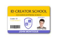 017 Teacher Id Card Photoshop Template Unbelievable Ideas throughout Teacher Id Card Template