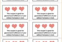 018 Printable Coupon Template Love Coupons Ideas Make Your intended for Love Coupon Template For Word