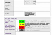 018 Template Ideas Project Status Report Excel Weekly pertaining to Project Status Report Template Excel Download Filetype Xls