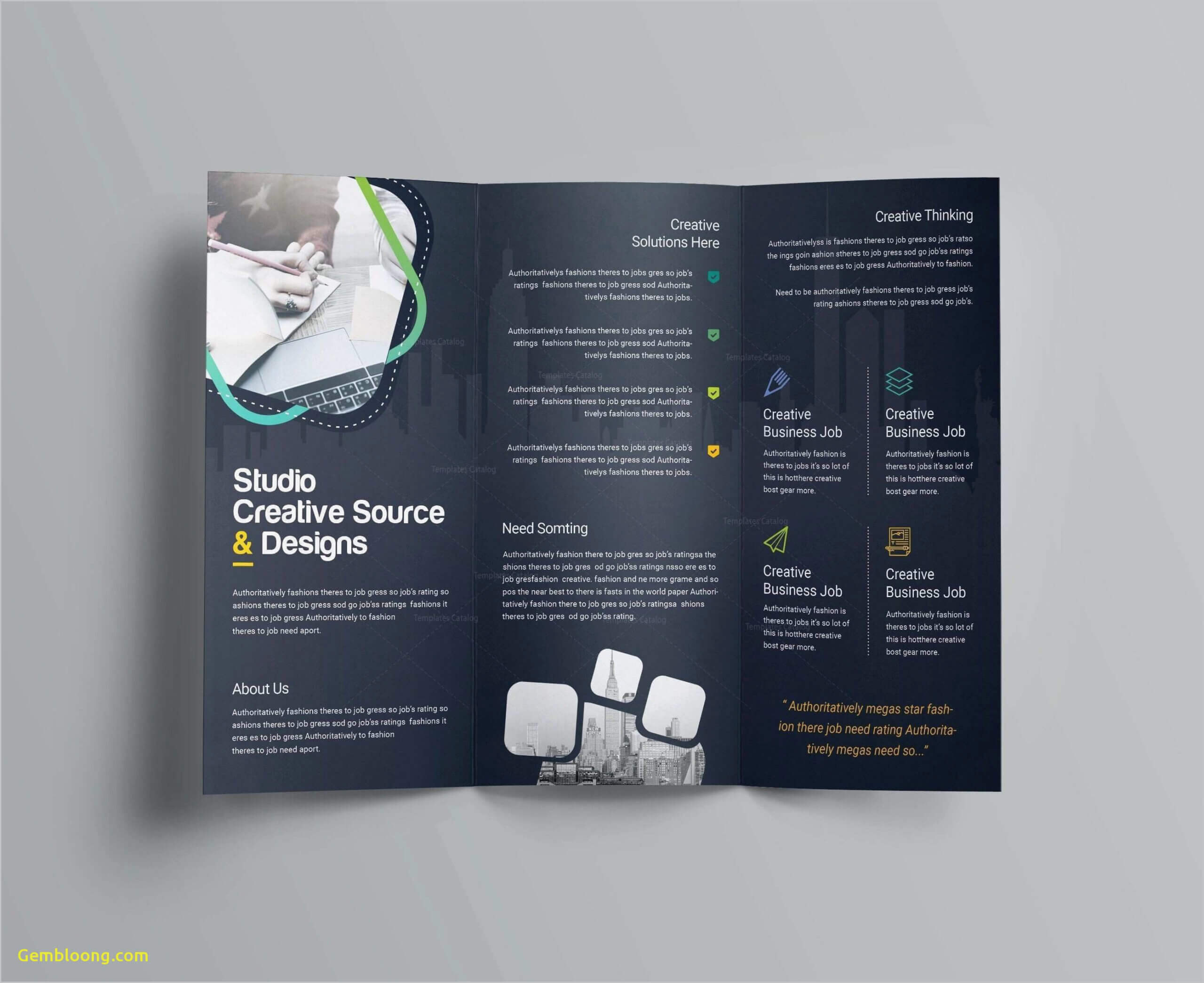 018 Templates For Brochures Free Download Template Ideas Inside Free Brochure Templates For Word 2010