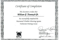 018 Training Completion Certificate Template Free Ideas within Free Completion Certificate Templates For Word