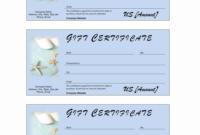 019 Blank Gift Certificate Template Ideas Dreaded Printable Within Gift Certificate Template Indesign