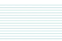 019 Blank Index Card Template Inside 3X5 Free Surprising inside Word Template For 3X5 Index Cards