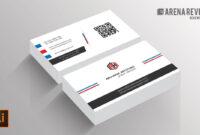 019 Business Card Template Ai Incredible Ideas File Free regarding Visiting Card Illustrator Templates Download