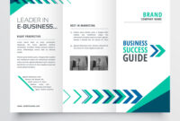 019 Business Tri Fold Brochure Template Design With Vector within Free Illustrator Brochure Templates Download