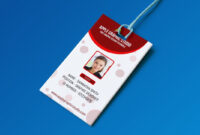 019 Free Id Card Template Ideas Fascinating Download intended for College Id Card Template Psd
