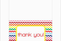 019 Free Printable Thank You Note Card Templates with regard to Thank You Note Card Template
