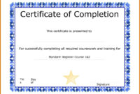 019 Template Ideas Microsoft Word Certificate Free Download regarding Microsoft Office Certificate Templates Free