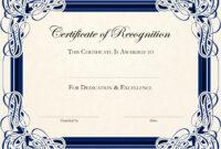 020 Blank Award Certificate Template Ideas Free Printable in Free Printable Blank Award Certificate Templates