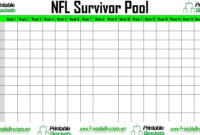 020 Football Squares Template Excel Free Spreadsheet Super pertaining to Football Betting Card Template