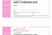 020 Gift Certificate Form Fillable Printable Pdf Intended intended for Fillable Gift Certificate Template Free