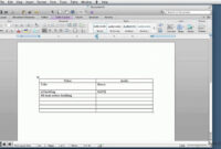 020 Microsoft Word Screenplay Template Ideas Format with regard to Microsoft Word Screenplay Template