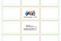 020 Playing Cards Formatting Templates Print Business Card inside Template For Playing Cards Printable