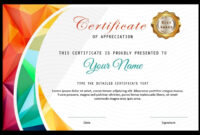 020 Template Ideas Certificate Of Appreciation Templates for Award Certificate Template Powerpoint
