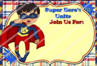020 Template Ideas Pj Masks Layout 02 Superhero Invitation inside Superhero Birthday Card Template