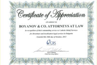 022 Years Of Service Certificate Template Free Appreciation with regard to Recognition Of Service Certificate Template