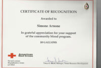023 Silent Auction Donation Certificate Template Of Form inside Donation Certificate Template