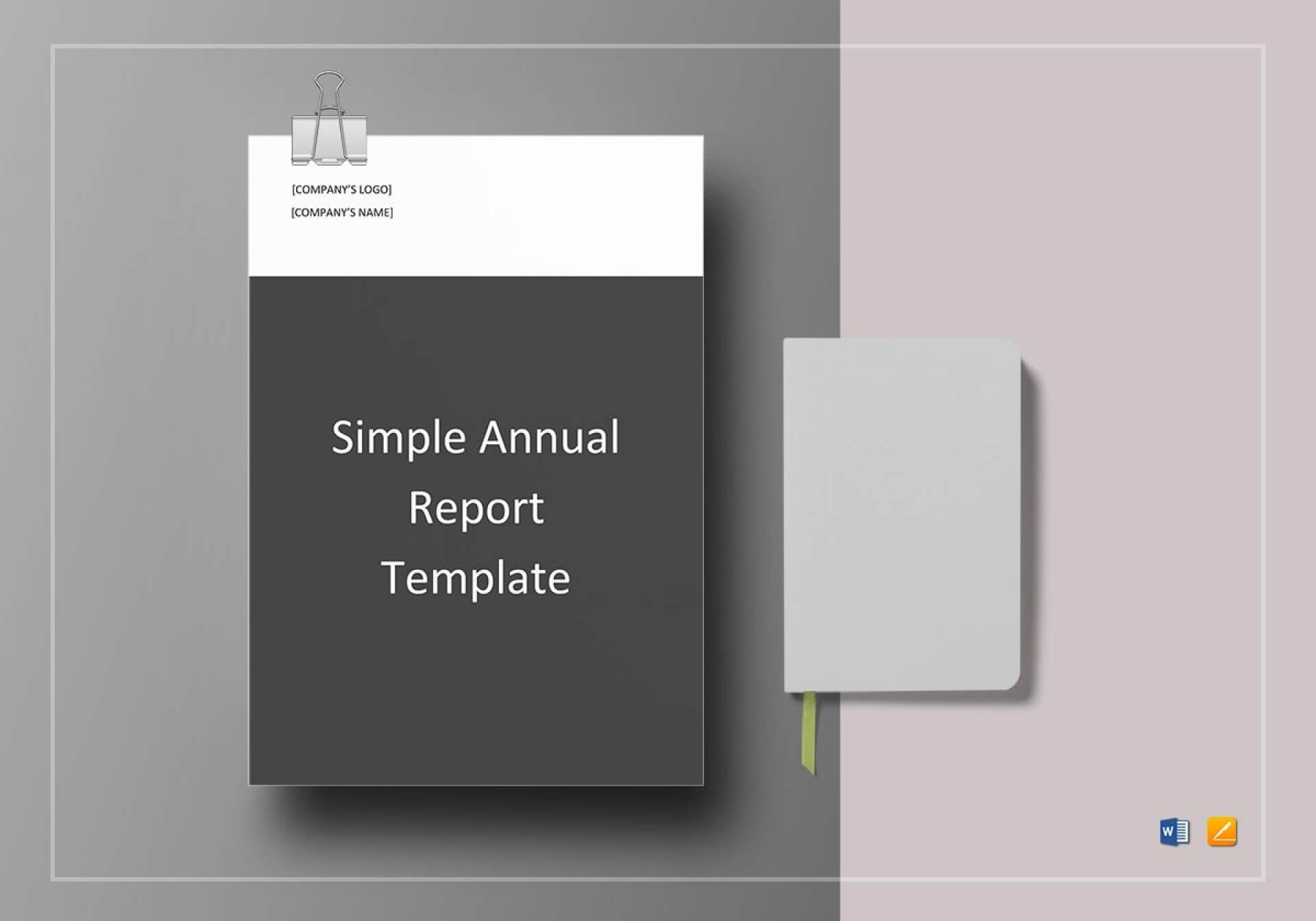 023 Template Ideas Annual Report Word Marvelous Theme Intended For Simple Report Template Word