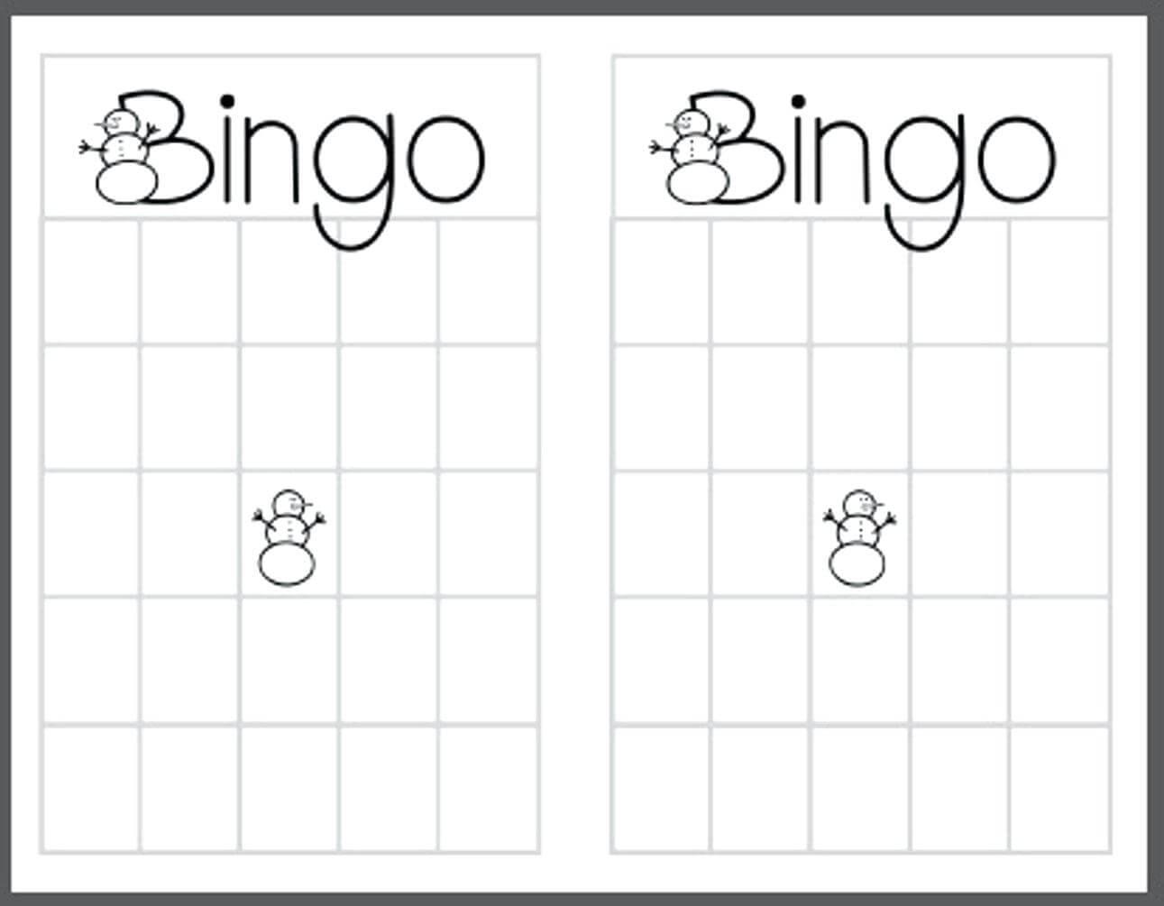 023 Template Ideas Blank Bingo Stirring Card For Baby Shower With Regard To Blank Bingo Card Template Microsoft Word