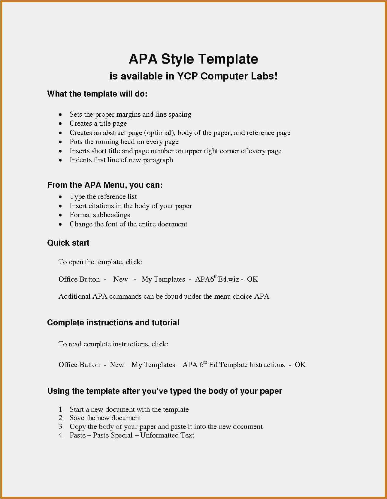024 Apa Reference Page Template Word Style Paper Format Intended For Apa Template For Word 2010