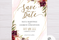 024 Logic Model Template Save The Date Templates Word Best With Regard To Save The Date Templates Word