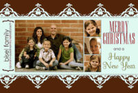 024 Milk And Honey Designs Free Christmas Card Templates inside Free Christmas Card Templates For Photographers