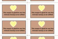 024 Template Ideas Luxury Printable Love Coupons Free Coupon for Love Coupon Template For Word
