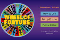 024 Template Ideas Powerpoint Game Show Templates Free intended for Wheel Of Fortune Powerpoint Template