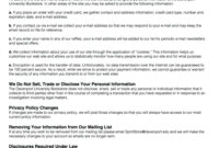 025 Bunch Ideas For Privacy Policy Template Free In Unusual In Credit Card Privacy Policy Template