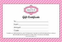 025 Certificate Templates For Word Free Download Template inside Gift Certificate Template Publisher