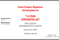 025 Half Page Templates Lovely Advertise Of Template with regard to Magazine Ad Template Word