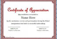 025 Template Ideas Blank Certificate Of Appreciation for Blank Certificate Templates Free Download