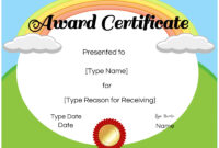 026 Free Templates For Certificates Certificate Kids with regard to Free Kids Certificate Templates