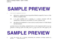 027 Equipment Lease Purchase Agreement Template Ideas pertaining to Certificate Of Acceptance Template