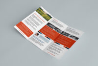 027 Tri Fold Brochure Template Free Download Ai Psd Trifold with Ai Brochure Templates Free Download