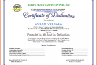 028 Baby Dedication Certificate Template Fake Birth Maker pertaining to Children's Certificate Template