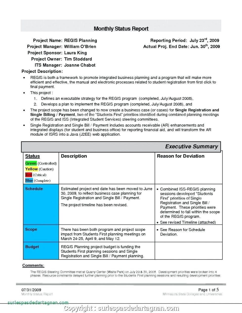 028 Monthly Sales Report Template Executive Manager Example With Sales Manager Monthly Report Templates