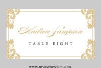 029 Place Card Templates Word Template Ideas Excellent pertaining to Free Template For Place Cards 6 Per Sheet