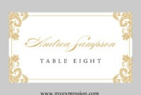029 Place Card Templates Word Template Ideas Excellent pertaining to Place Card Template 6 Per Sheet