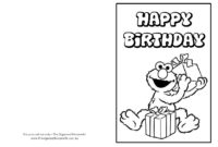030 Elmo Birthday Card Printable Template Exceptional Ideas in Elmo Birthday Card Template