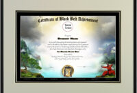030 Martial Arts Certificate Templates Free Download Inside Art Certificate Template Free