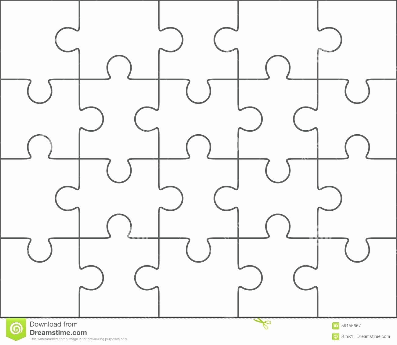 030 Puzzle Pieces Template For Word Best Of Piece Intended Intended For Jigsaw Puzzle Template For Word