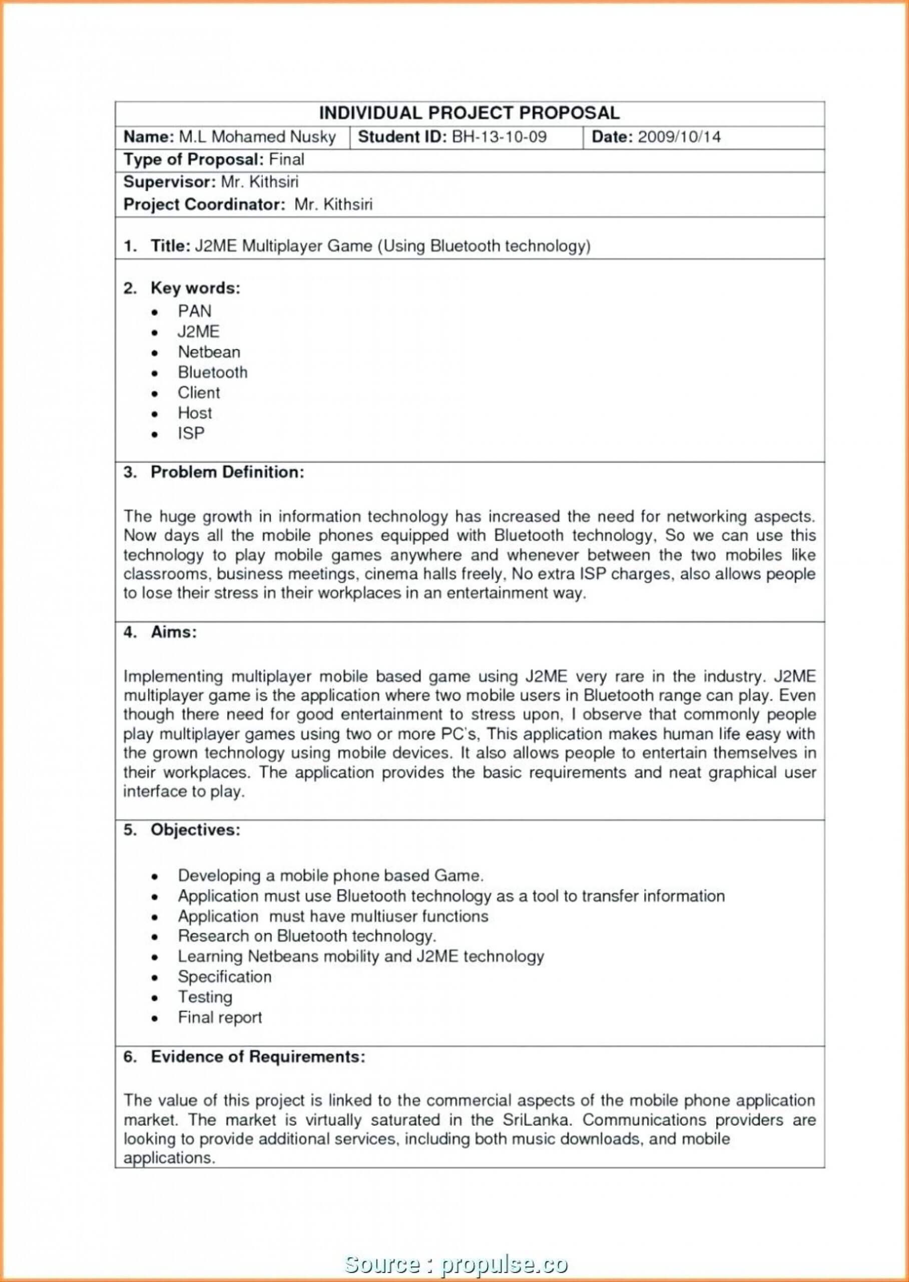 030 Software Development Plan Template Doc Sample Business For Software Project Proposal Template Word