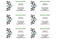 030 Template Ideas Microsoft Business Card Templates For with Microsoft Templates For Business Cards