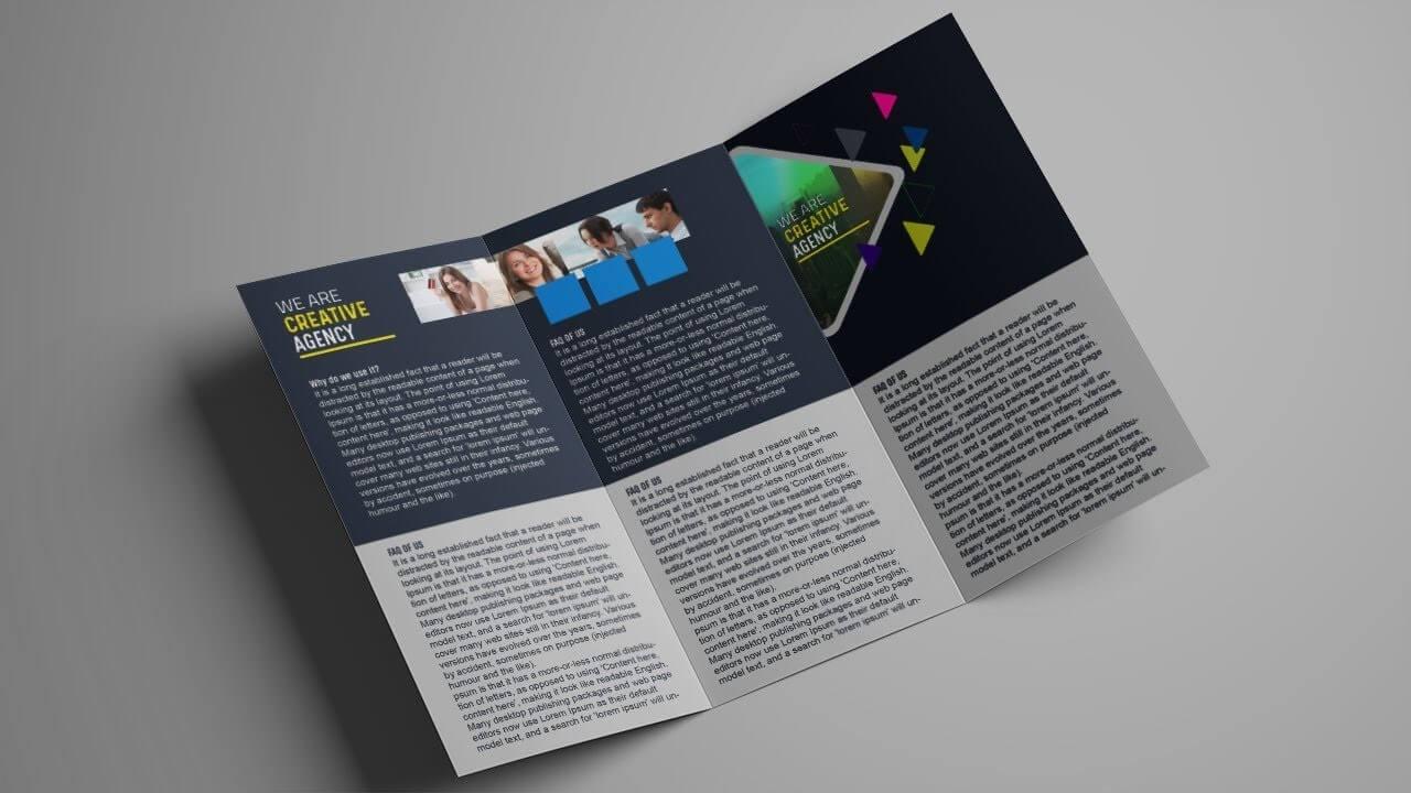 030 Tri Fold Flyer Template Psd Ideas Photography Service Within 3 Fold Brochure Template Psd