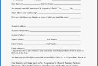 031 Free Printable Camp Registration Form Templates Template within Camp Registration Form Template Word