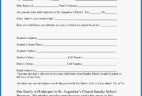 031 Free Printable Camp Registration Form Templates Template within Camp Registration Form Template Word
