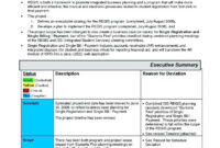 032 Construction Project Progress Report Template Excel in It Management Report Template