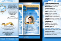 032 Free Obituary Template Download Funeral Program with Free Obituary Template For Microsoft Word