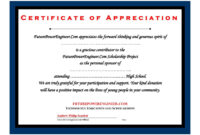 032 Silent Auction Donation Certificate Template Excellent throughout Donation Certificate Template